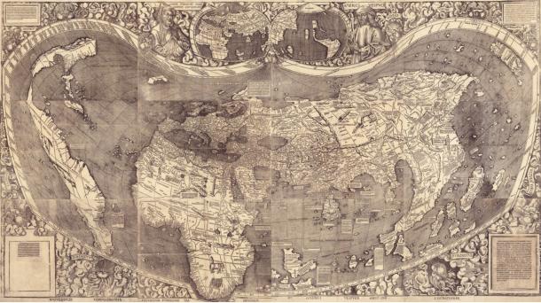 Mapa de Martin Waldseemüller