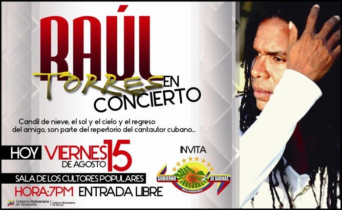 Raul Torres en Concierto FONDO
